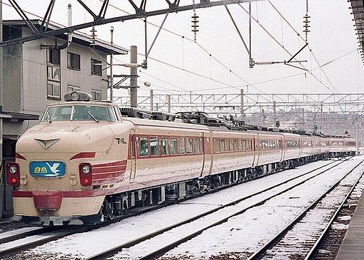 JNR 485 kanimuttari hakucho at akita2