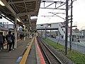 JR East Sanuki Station Platform.jpg