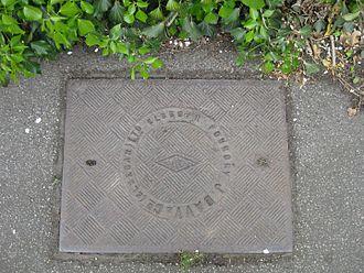 Elsecar - Manhole cover from an Elsecar foundry