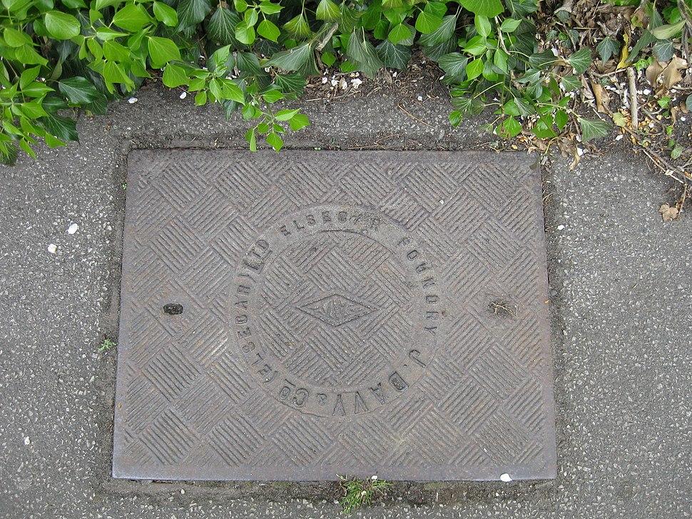 J Davey Elsecar manhole cover April 2017
