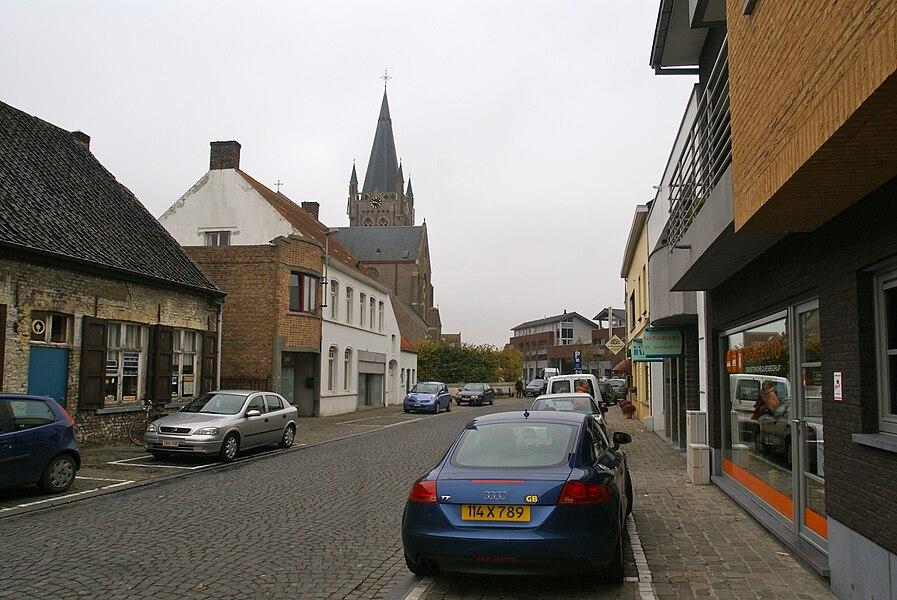 Jabbeke (Belgium): Dorpsstraat (High Street)