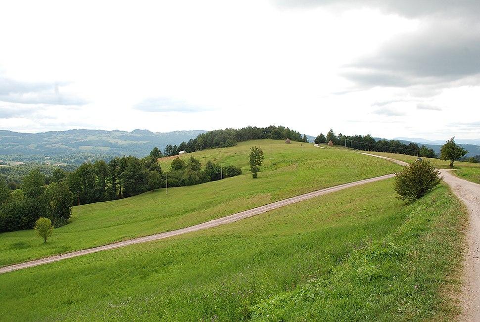 Jablanik - zapadna Srbija - mesto Debelo brdo - Raskrsnica kod kruške - Put za Torničku Bobiju i selo Gornje Košlje 6