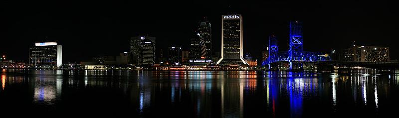 File:Jacksonville Skyline Night Panorama Digon3.jpg