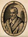Jacobus Zabarella. Line engraving. Wellcome V0006407.jpg