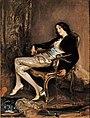 Jacques-Émile Blanche, 1903c - Le Chérubin de Mozart, un portrait de Désirée Manfred.jpg