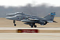 Jaguar GR3s 6 Sqn RAF taking off from St Louis 2006.jpeg