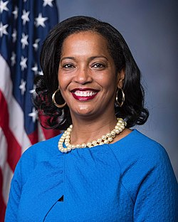 Jahana Hayes, official portrait, 116th Congress.jpg