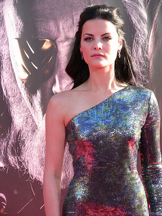 Jaimie Alexander - Alexander at the Hollywood premiere of  Thor in May 2011