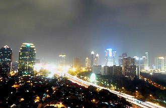Megacity - Image: Jakarta Skyline (Resize)