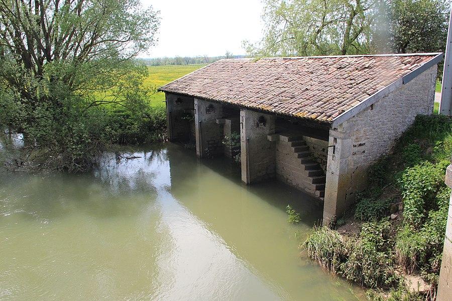 Jakobsweg by Niederkasseler   France - Waschhaus Champougny