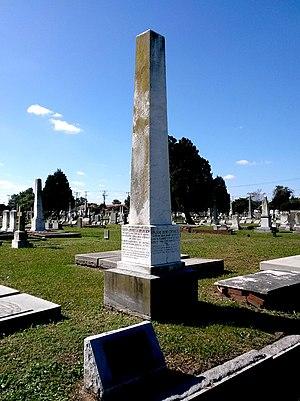 James Chisholm (priest) - Rev. Chisholm memorial in Cedar Grove Cemetery, Portsmouth, Virginia