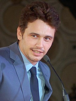 James Franco i samband med att han mottog en stjärna på Hollywood Walk of Fame i Los Angeles, 2013.