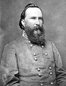 Portrait photograph of Longstreet in uniform
