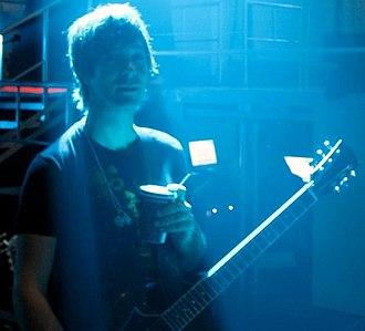 American Hi-Fi - Guitarist Jamie Arentzen, pictured in December 2007
