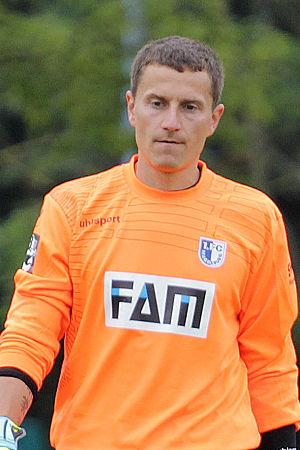 Jan Glinker - Glinker playing for 1. FC Magdeburg in 2015