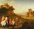 Jan van Haensbergen - Italianate Landscape with Bathing Nymphs.jpg