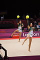 Japan Rhythmic gymnastics at the 2012 Summer Olympics (7915448426).jpg