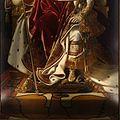 Jean-auguste-dominique ingres, napoleone I sul trono imperiale, 1806, 08.jpg