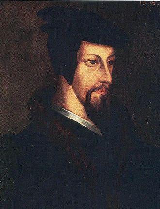History of the Calvinist–Arminian debate - Image: Jean Calvin