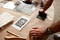 Jennifer Schmitt First Friday May 2011 Printmaking 006.JPG