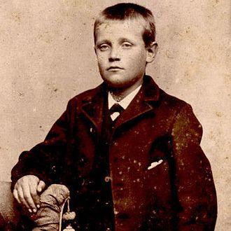 Jens Jensen (landscape architect) - A young Jensen