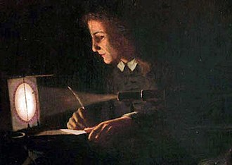 Jeremiah Horrocks - Making the first observation of the transit of Venus in 1639