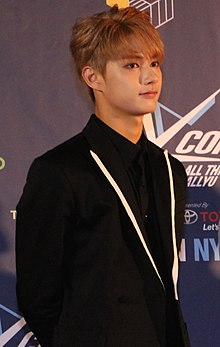 Jerry Wen during KCON New York 2016 Press Conference 01.jpg