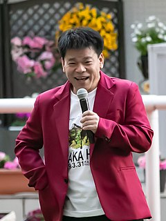 Jimmy Onishi Japanese painter and comedian