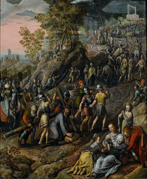 File:Joachim Beuckelaer - Christ carrying the Cross - Google Art Project.jpg