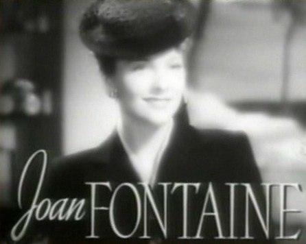 Joan Fontaine in The Women trailer
