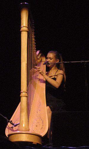 Deutsch: Joanna Newsom, Liveauftritt München 2007