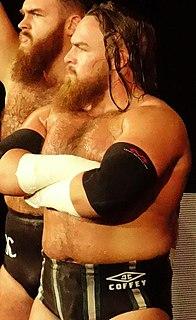 Joe Coffey (wrestler) Scottish professional wrestler