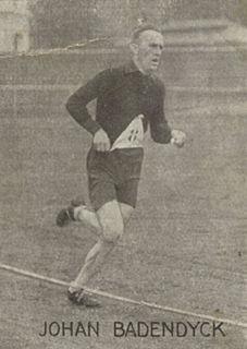 Johan Badendyck Norwegian athletics competitor