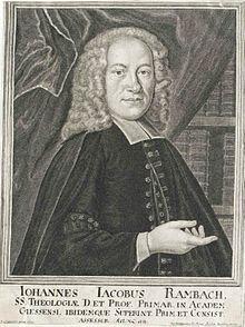 Johann Jakob Rambach, Stich von Johann Georg Wolfgang (Quelle: Wikimedia)