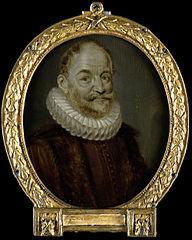 Portrait of Johannes Polyander à Kerckhoven, Professor of Theology in Leiden