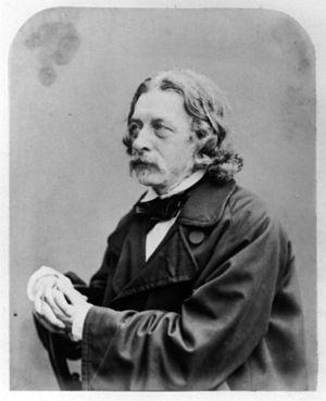 John Abraham Heraud - John Abraham Heraud, photograph of the 1850s