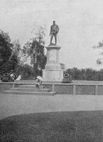 John Nicholson (East India Company officer) - Statue of John Nicholson with naked sword in hand in Delhi