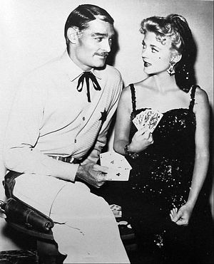 Peggie Castle - John Russell and Peggie Castle in ABC's Lawman (1959)