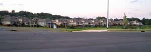 Johnson City, Tennessee - Condominium development in North Johnson City