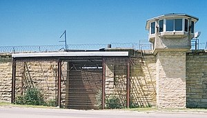 Joliet Correctional Center - East gate of the prison