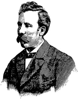 Jon Hol - Illustration from Verdens Gang, 1884.