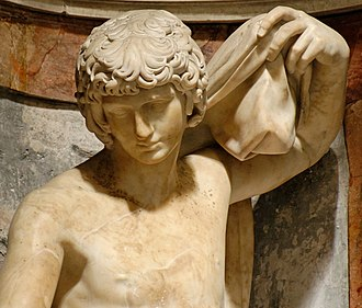 Jonah (Lorenzetto) - The head was inspired by the Antinous Farnese.