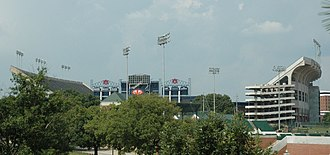 Jordan–Hare Stadium - Image: Jordan Hare South E Zext