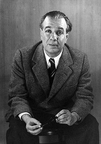 Miguel de Cervantes Prize - Image: Jorge Luis Borges 1951, by Grete Stern