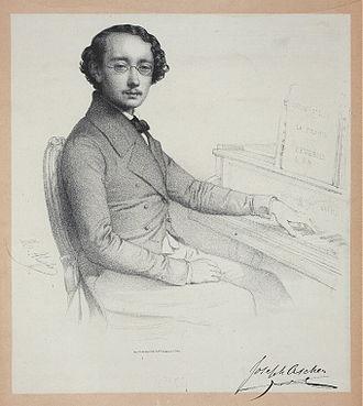 Joseph Ascher - Portrait of Joseph Ascher