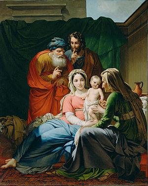 Joseph Paelinck - Image: Joseph Paelinck (Belgian The Holy Family Google Art Project