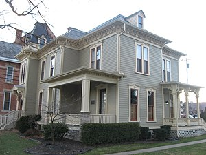National Register of Historic Places listings in Sandusky County, Ohio - Image: Joseph and Rachel Bartlett House