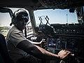 Joshua Henry in C-17 Globemaster III.jpg