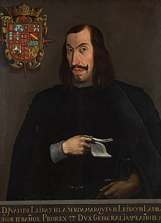 Juan Francisco Leiva y de la Cerda Spanish noble