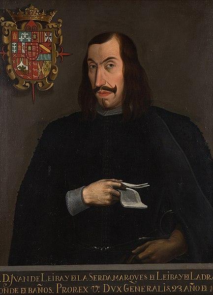 Retrato de Juan Leiva de la Cerda.